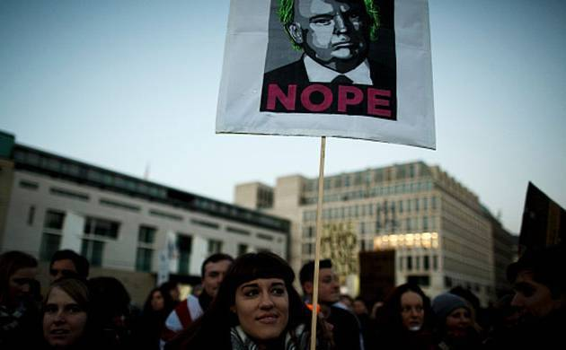 Rally in US (Source: Getty )