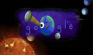 Google dedicates its doodle to Nasa's exoplanet discovery
