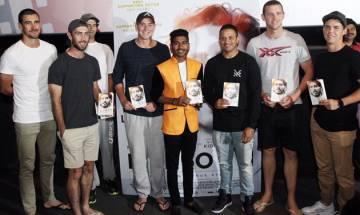 Australian Cricket Team attends special screening of 'Lion'