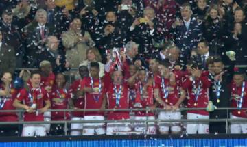 Zlatan Ibrahimovic brace inspires Manchester United to EFL cup victory