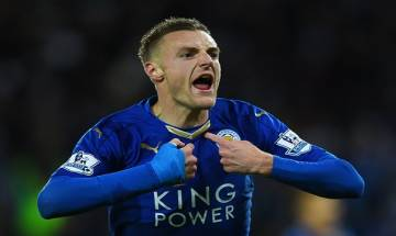 Jamie Vardy's double strike helps Leicester City defeat Liverpool 3-1 in English Premier League