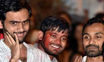 Sedition case: Delhi Police indicts JNU's Umar Khalid, Anirban for protest against Afzal hanging, asks court to decide Kanhaiya Kumar's fate