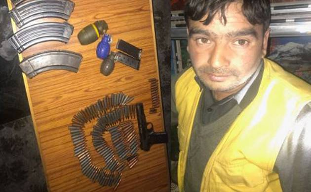 JK: Arms, ammunitions recovered during search operation in Uri, driver arrested (Image: ANI)