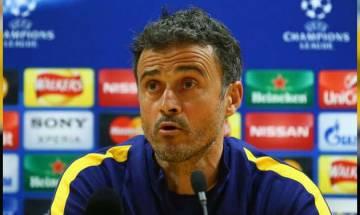 Barcelona manager Luis Enrique decides to quit