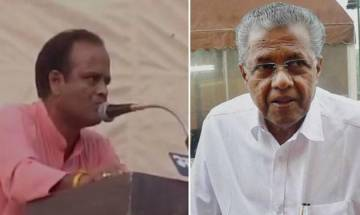 Video   RSS says doesn't subscribe violent action after its leader announces Rs 1 crore bounty on Kerala CM's head