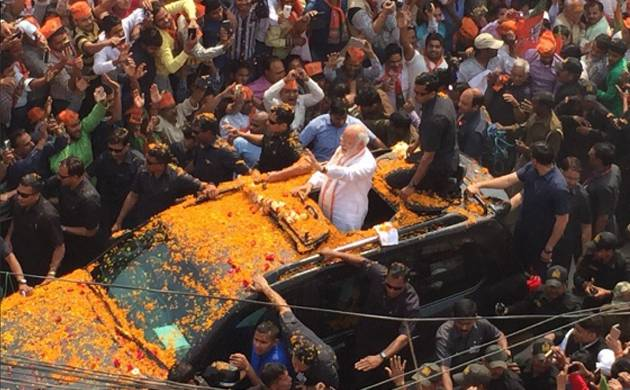 PM Modi's roadshow in Varanasi