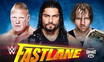 Amazon pre-order post reveals huge WWE Fastlane spoiler