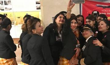 Air India deploys all-women crew on board, gets into record books with around-the-globe flight
