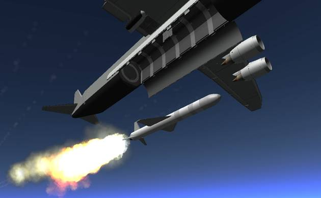 China to develop satellite-delivery rockets from airplanes (Representational picture)