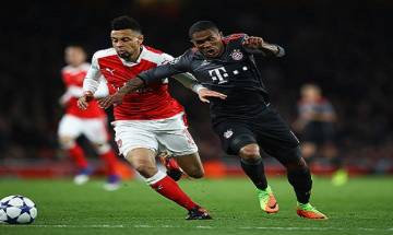 UEFA Champions League: Bayern Munich thump 10-man Arsenal 5-1 in Round 16 second-leg to sail into quarterfinals