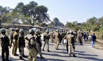 Nine SSB jawans get injured in stone pelting at Indo-Nepal border