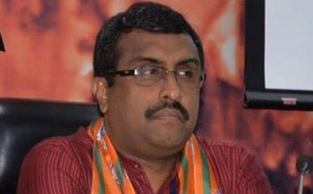 BJP General Secretary Ram Madhav