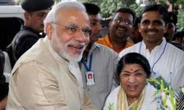 Lata Mangeshkar congratulates PM Modi for his 'shaandaar jeet' with a special message