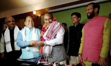 Manipur CM Ibobi Singh to resign on Tuesday, N Biren Singh elected leader of BJP legislature party