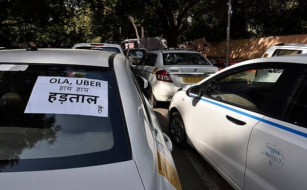 Driver's protest partially halt services of Ola, Uber