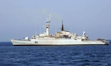 Two Pakistan naval ships in Lanka for joint naval training