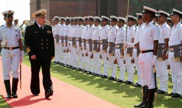 Naval chiefs of Russia, India meet, hold talks to increase engagement between both countries