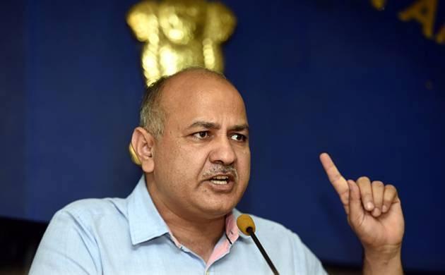 A file photo of Delhi's deputy chief minister Manish Sisodia.