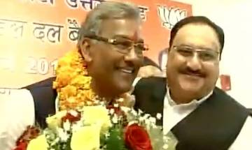 Uttarakhand: Trivendra Singh Rawat, leader with RSS background, will take oath as CM today