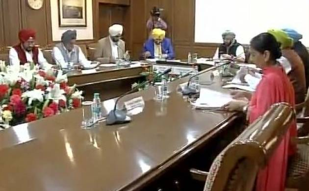 New Punjab Govt convenes first cabinet meeting; Vidhan Sabha session to be held on March 24 (ANI Image)