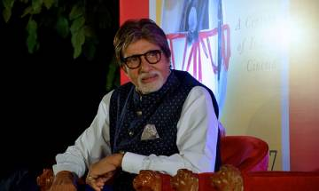 Amitabh Bachchan suffers from strained neck due to old injuries during stunts in films