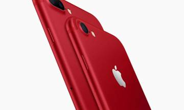 Apple launches special all red-editions of i-Phone 7 and i-Phone 7 Plus in India from April, cuts prices on lower end i-Pads