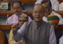 Finance Minister Arun Jaitley in Lok Sabha: 'Govt to bring a bill to amend Excise and Customs Act, along with 4 bills on GST'