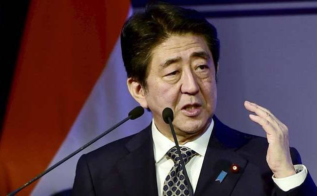 A file photo of Japan Prime Minister Shinzo Abe.