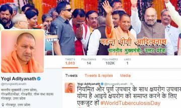 UP CM Yogi Adityanath's old Twitter handle suspended, @myogiadityanath is his new address on micro-blogging site