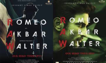 'Romeo Akbar Walter': Sushant Singh Rajput reveals his intriguing first look