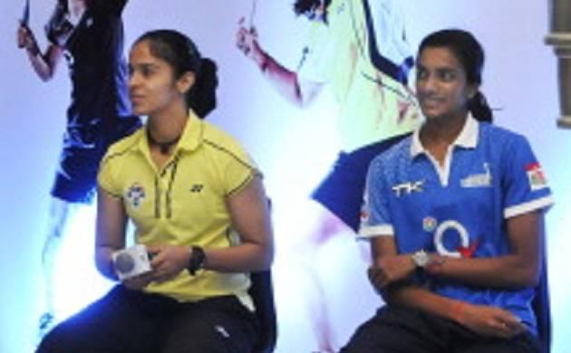 Saina Nehwal and PV Sindhu (source: Getty)
