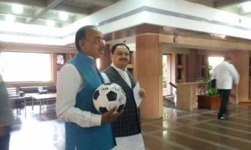 U-17 FIFA World Cup: MPs promote football at Parliament House