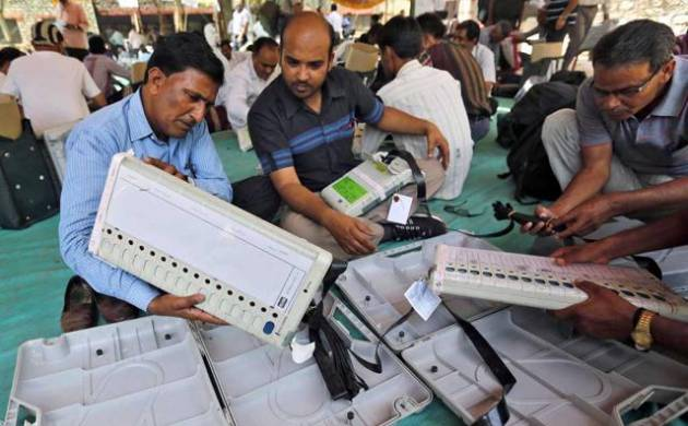 EC appoints high-level to team supervise MP by-polls after complaints of faulty EVMs (File Photo)