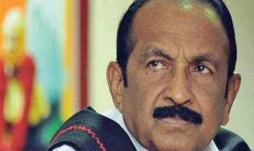 MDMK chief Vaiko remanded in judicial custody for 15 days after he surrenders in sedition case