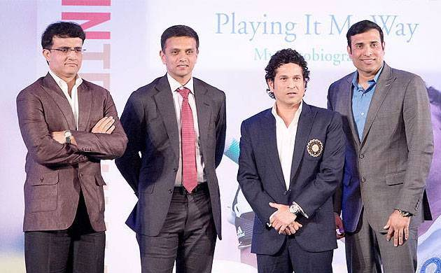 IPL 10 Opening Ceremony Live: India's Fab Five Sachin, Sourav, Sehwag, Laxman and Dravid being felicitated