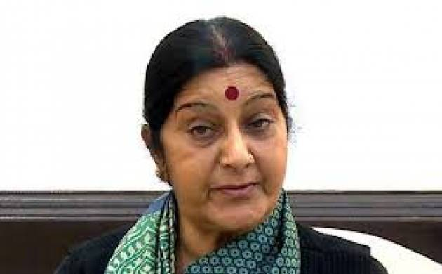 Union External Affairs Minister Sushma Swaraj
