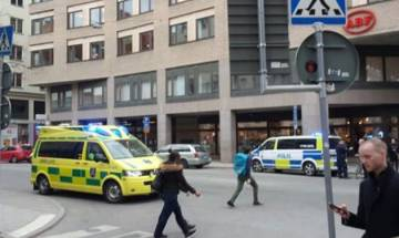 Stockholm attack: 3 dead as a truck crashes into store near Indian Embassy; Swedish PM calls it terror attack