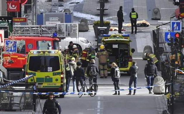 Swedish police suspect arrested on 'suspicion of terrorist crime' was driver in truck attack (File Photo)