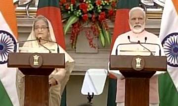 India, Bangladesh sign 22 MoUs, PM Modi assures Sheikh Hasina of early solution to Teesta water sharing issue