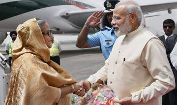 Bangladesh PM Sheikh Hasina to meet PM Modi today, will hold delegation level talks