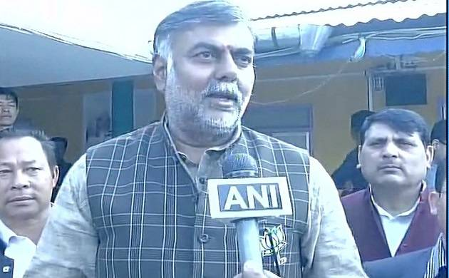BJP MP Prahlad Patel condemns the illegal mining on Narmada river
