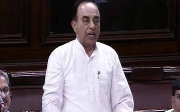 Senior BJP leader Subramanian Swamy (file photo)