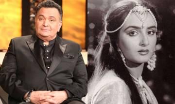 Oops! Rishi Kapoor takes a jibe at Tabu's sister Farah, calls her UNPROFESSIONAL