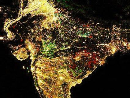 NASA releases India's night lights pictures: It's 'darkness