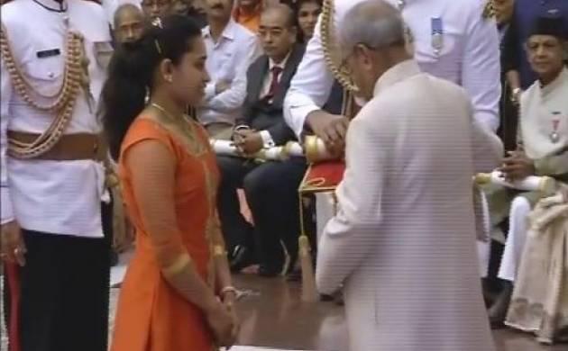 Dipa Karmakar, Sanjeev Kapoor and others get Padma Awards (ANI Image)