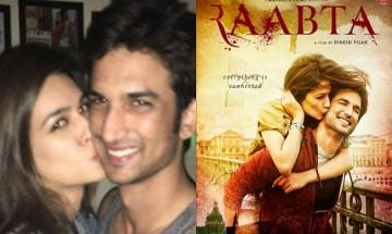 'Raabta' First look: Get a sneak-peek of Sushant Singh Rajput and Kriti Sanon's love-saga