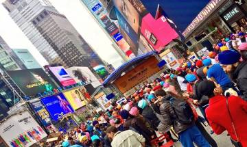 Turban Day: New York Times Square drenched in Sikh enthusiasm, experiences colourful evening