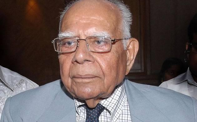 Ram Jethmalani (Source: PTI)