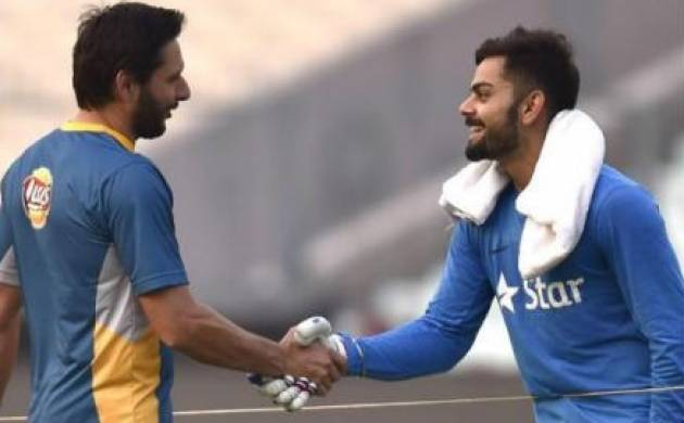 Shahid Afridi gets special retirement gift from team India - google photos