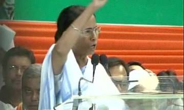 West Bengal CM Mamata Banerjee says BJP is defaming Hinduism and dividing people on religious identities